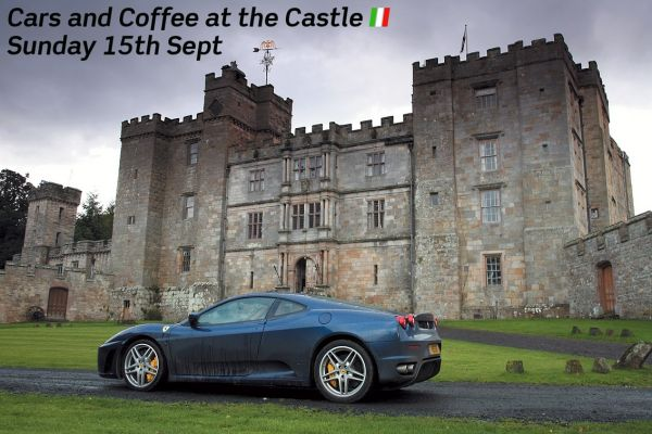 Cars and Coffee at the Castle