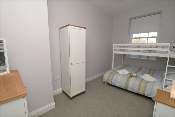 Charles Dickens House, Alnmouth - bunk bedroom