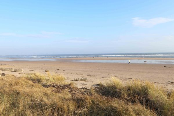 Charles Dickens House, Alnmouth - golden sandy beaches