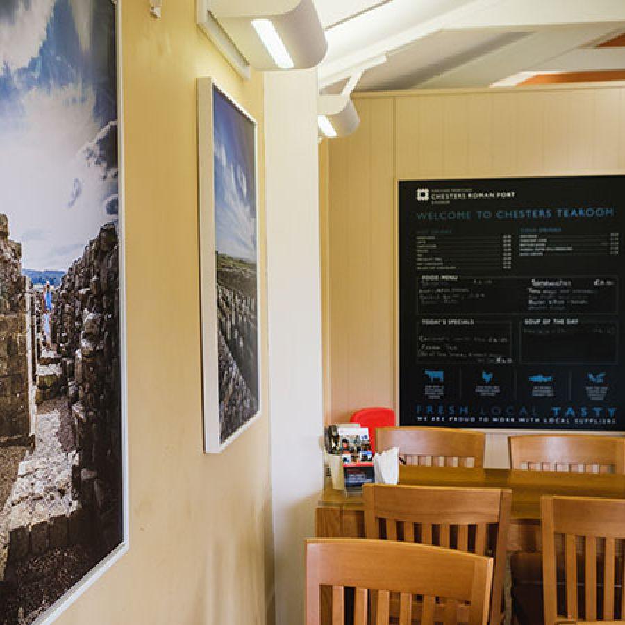 Inside Chesters Tearoom