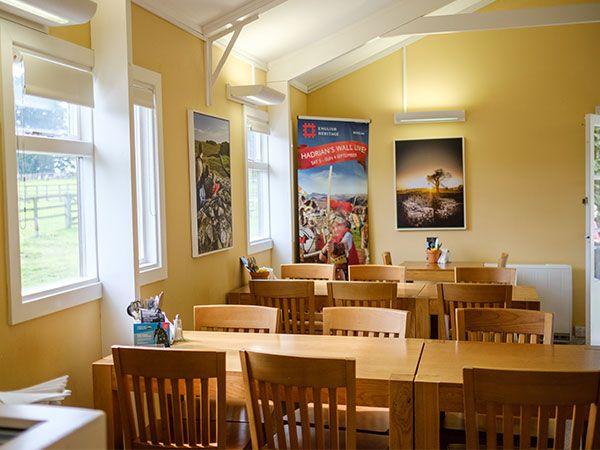 Interior Chesters Tearoom