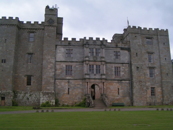 Front of castle