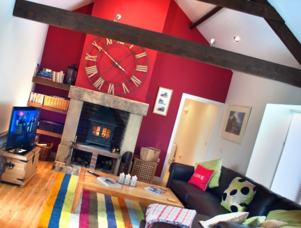 The Croft living room
