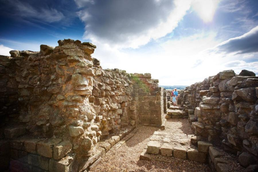 Corbridge Roman Town along Hadrian's Wall