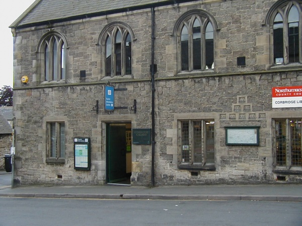 Welcome to Corbridge Tourist Information Centre is near St Oswald's Hospice 'Clarty Bairns' event