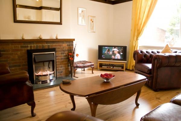 Jubilee Cottage living room
