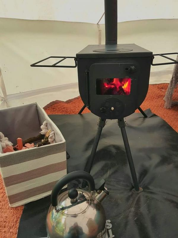 Our wood burning stoves keep you warm and toasty