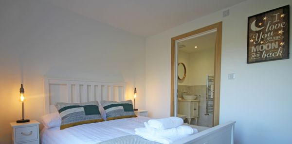 Double bedroom at Crag View