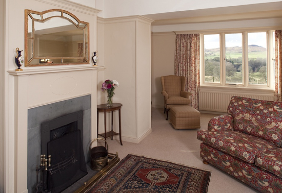 Park Cottage living room