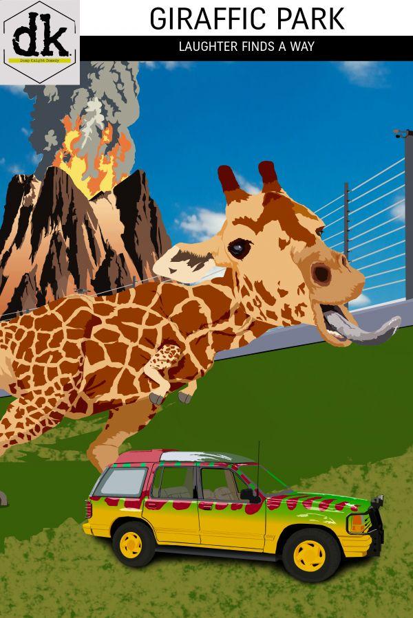 Damp Knight Comedy: Giraffic Park
