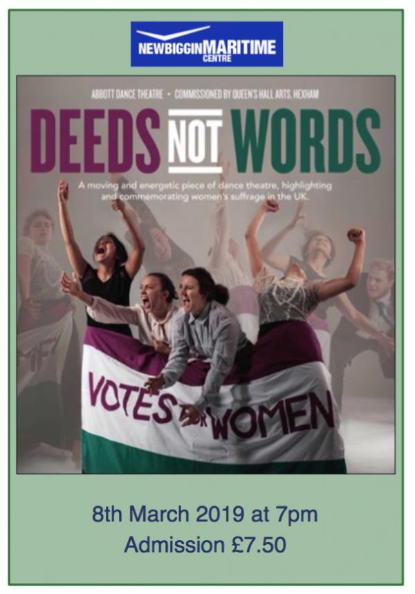 Deeds Not Words Play