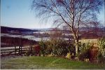 Stunning views from Dene View Cottage is near Lundgren Tours