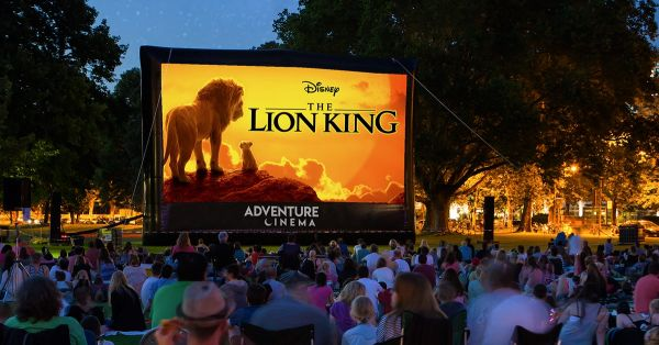 Disney The Lion King Outdoor Cinema at Alnwick Castle