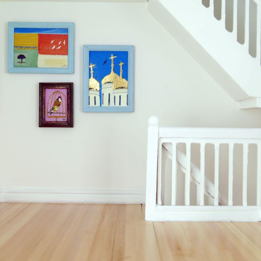 Original Miniature Paintings at Dockside Gallery
