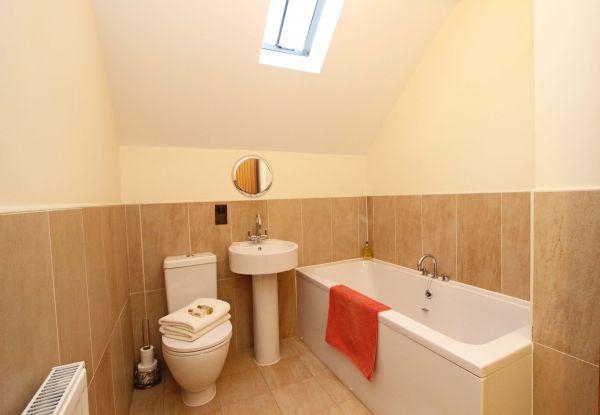 Dolphin Dream - upstairs family bathroom