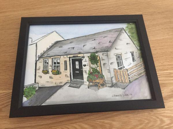 Drakestone Cottage - sketch