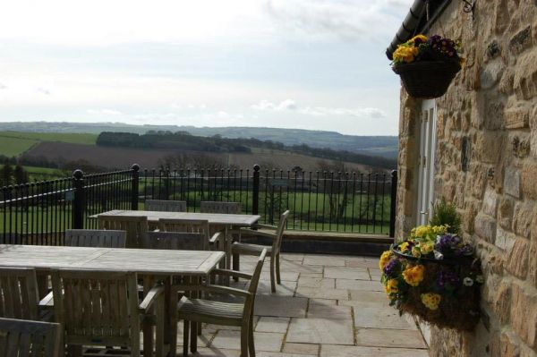 Views from Duke of Wellington Beer Garden is near Corbridge Tourist Information Centre