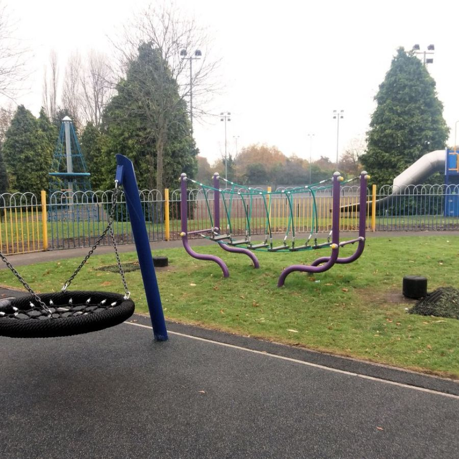 Play area at Eastwoods Park