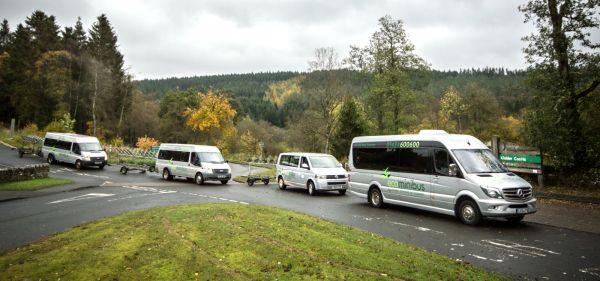 Kielder Forest Minibus