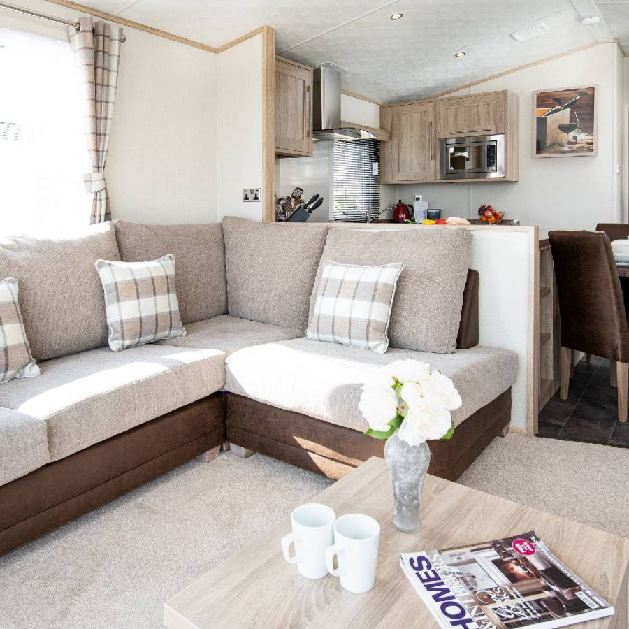 Elm Bank Luxury Gold Caravan