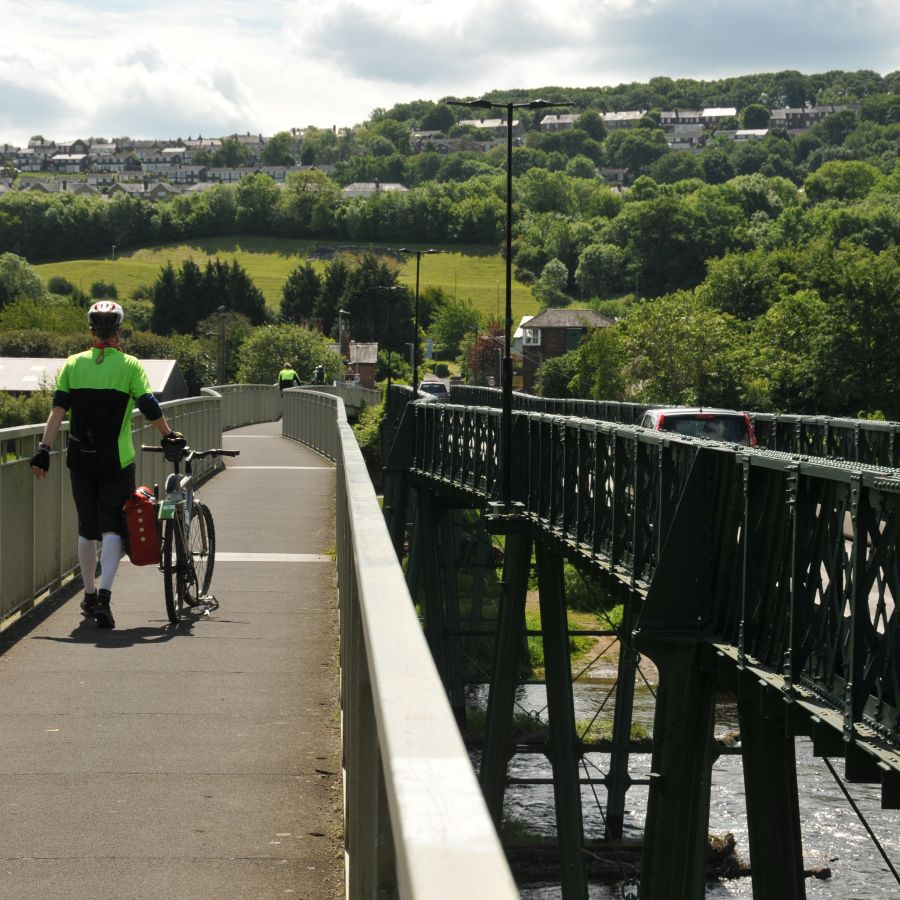 cycling -Tyne Valley