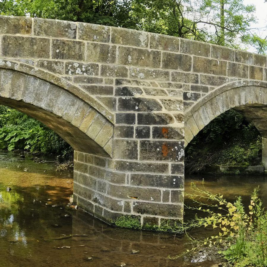 pack horse bridge in Ovingham
