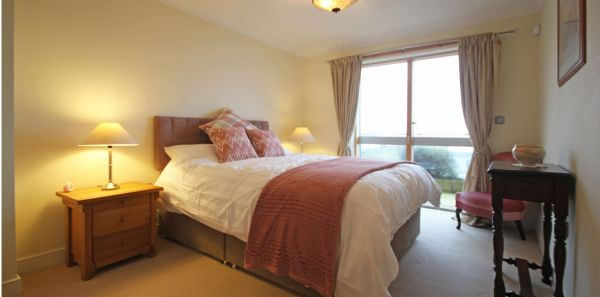 Master bedroom is near Bamburgh Castle Inn
