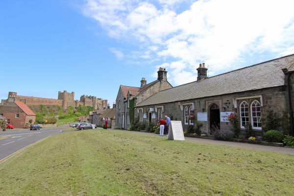 Ferguson Cottage, enjoy afternoon tea in Bamburgh