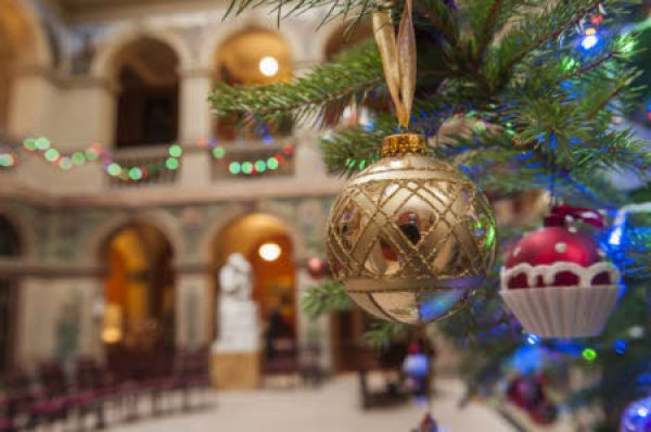 Festive Afternoon Tea in the Central Hall