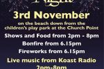 Newbiggin Firework Display