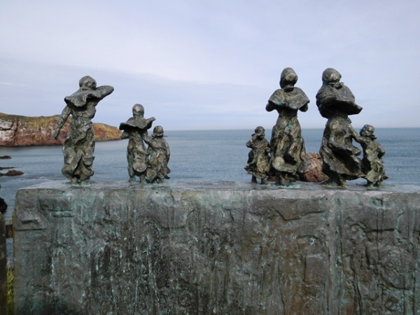 The Fishermens' Memorial at St. Abbs