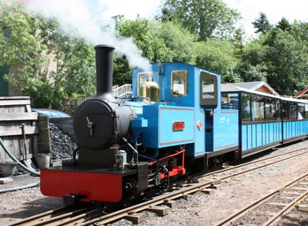 Heatherslaw Light Railway is near Boathouse Cottage