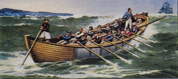 From Coble to Shannon: A History of our Lifeboats