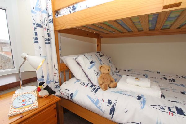 Gable Cottage, Seahouses, bunk bedroom, perfect for families