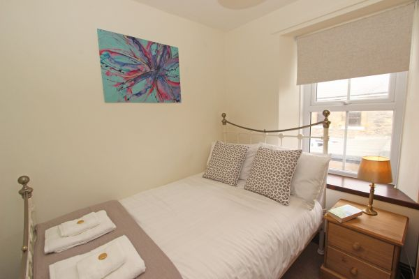 Gable Cottage, Seahouses, double bedroom