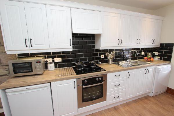 Gable Cottage, Seahouses kitchen