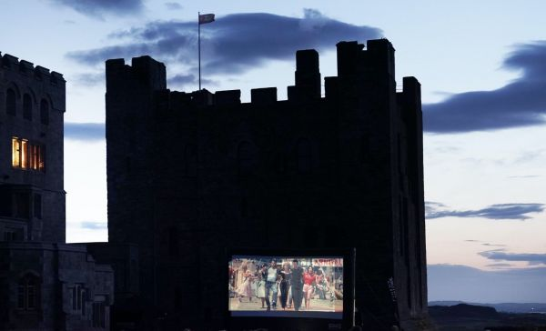 Grease Outdoor Cinema at Bamburgh Castle