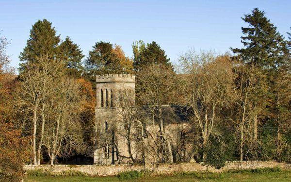 Old Church - Autumn