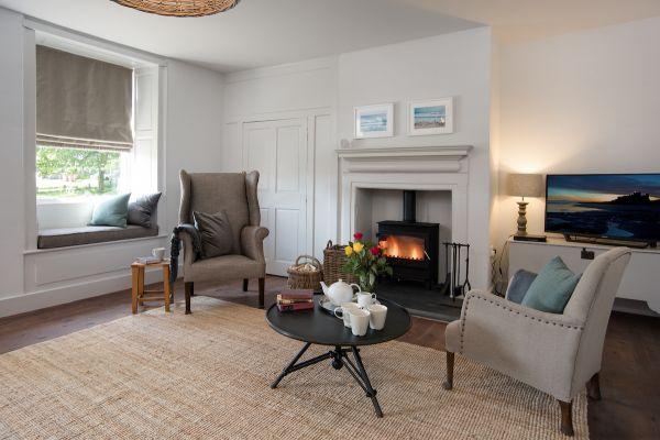 Grove House, living room