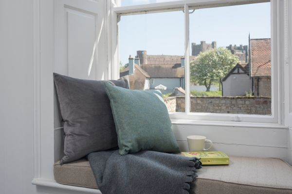 Grove House, window seat with view