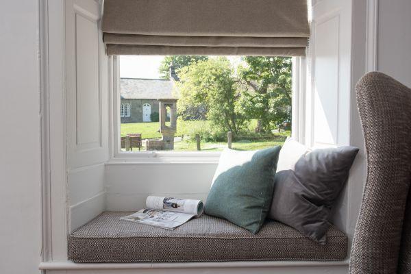 Grove House, window seat