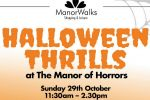 Halloween Thrills at The Manor of Horrors