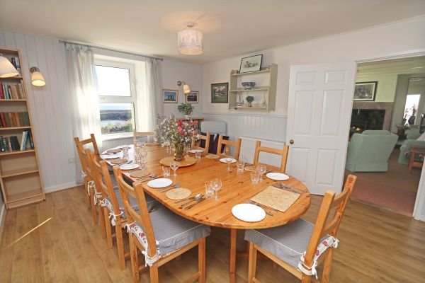 Harbour House, Craster, dining room 2