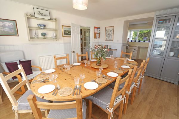 Harbour House, Craster, dining room