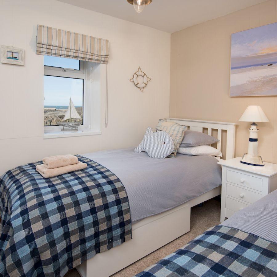 Harbourside twin bedroom