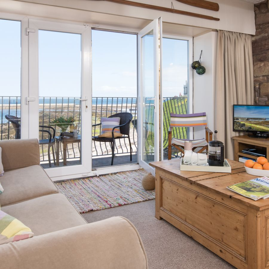 Harbourside living room