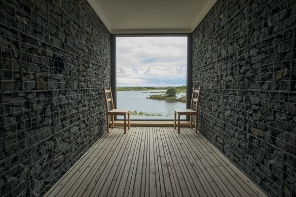 View across the lakes: John Faulkener