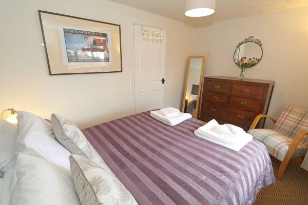 Hedgehope, Alnwick, master bedroom