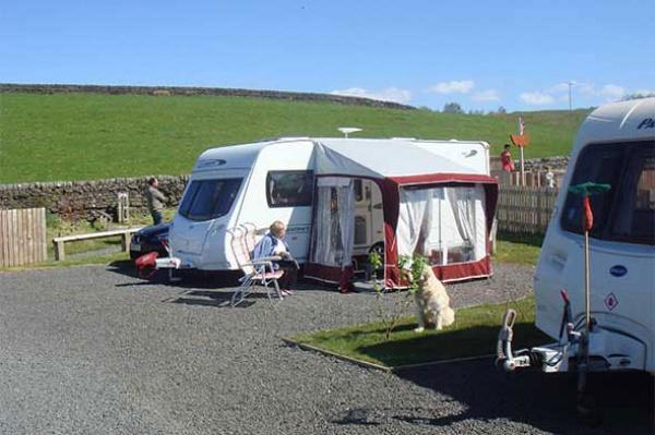 Hardstanding Caravan Pitch