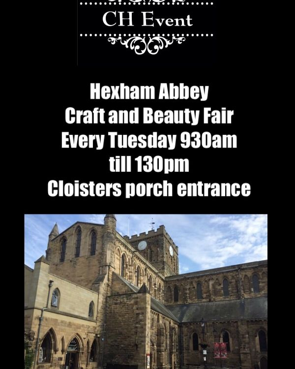Hexham Abbey Craft Fair